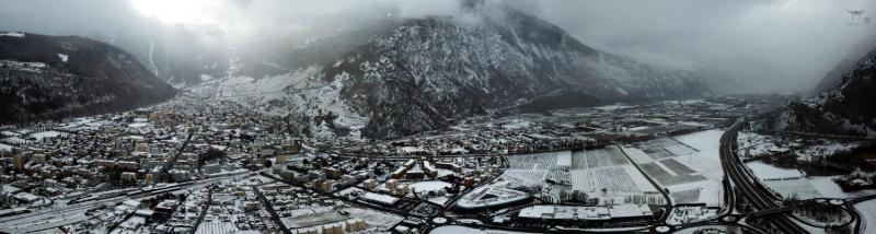 Martigny sous la neige